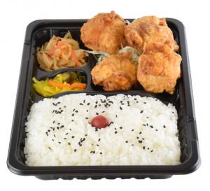 から揚げ弁当 420円(税込み453円)