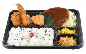 まんぷく弁当 640円(税込み691円)
