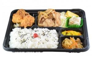 生姜焼きセット 560円(税込み604円)