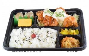 鶏タルタル弁当  530円(税込み572円)