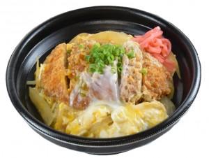 カツ丼 460円(税込み496円)