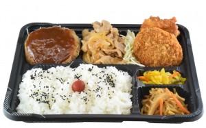 パワーミート弁当 650円(税込み702円)