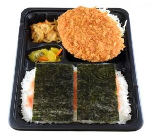のりコロ弁当 390円(税込み421円)