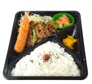 熟成牛焼き肉弁当 550円(税込594円)